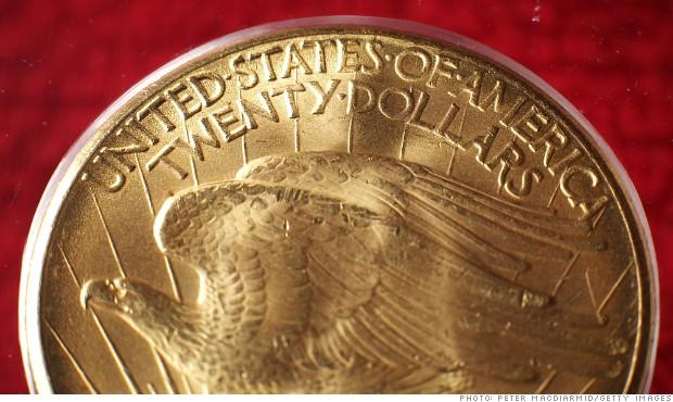 monedas de oro americano