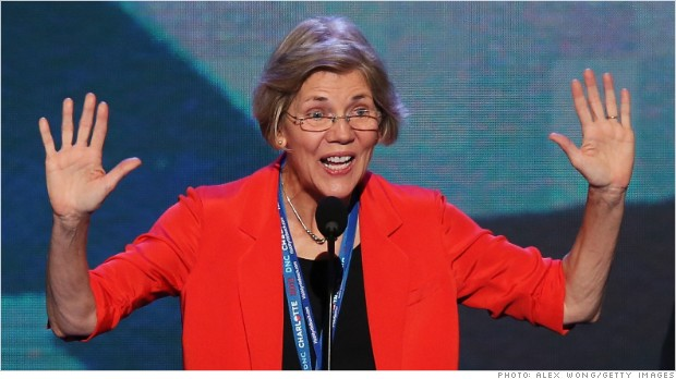 Elizabeth Warren defends Fannie and Freddie