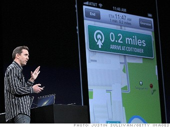 dumbest moments 2012 apple iphone 5 map