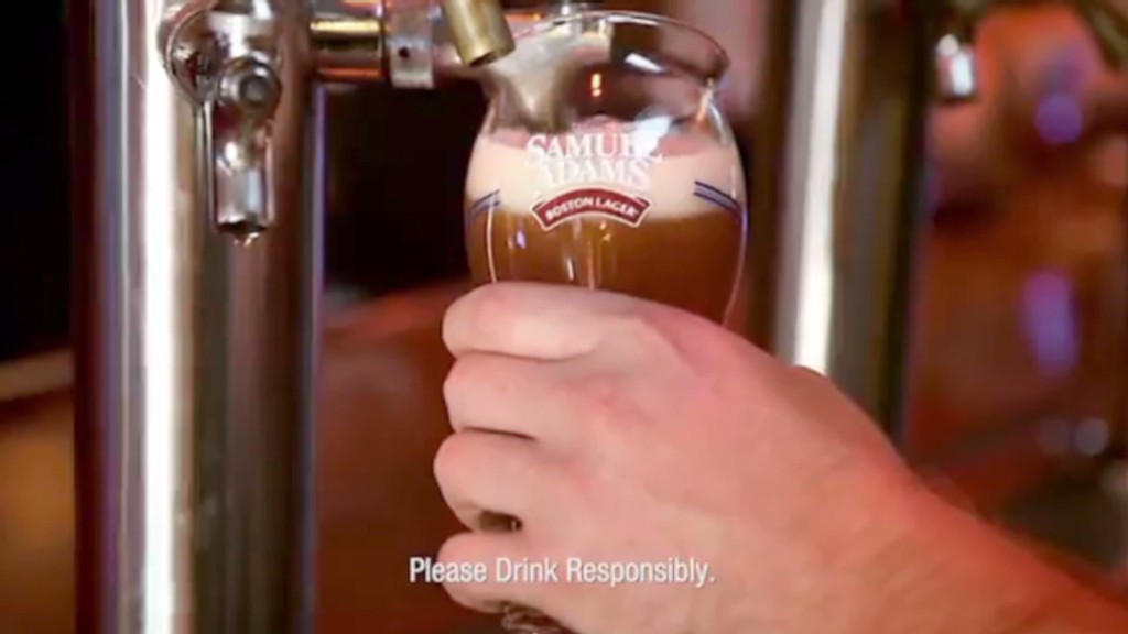 Sam Adams: Brewer. Patriot. Hot Stock.