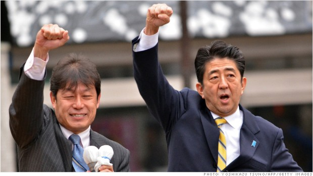 Stimulus for battered economy key in Japan election