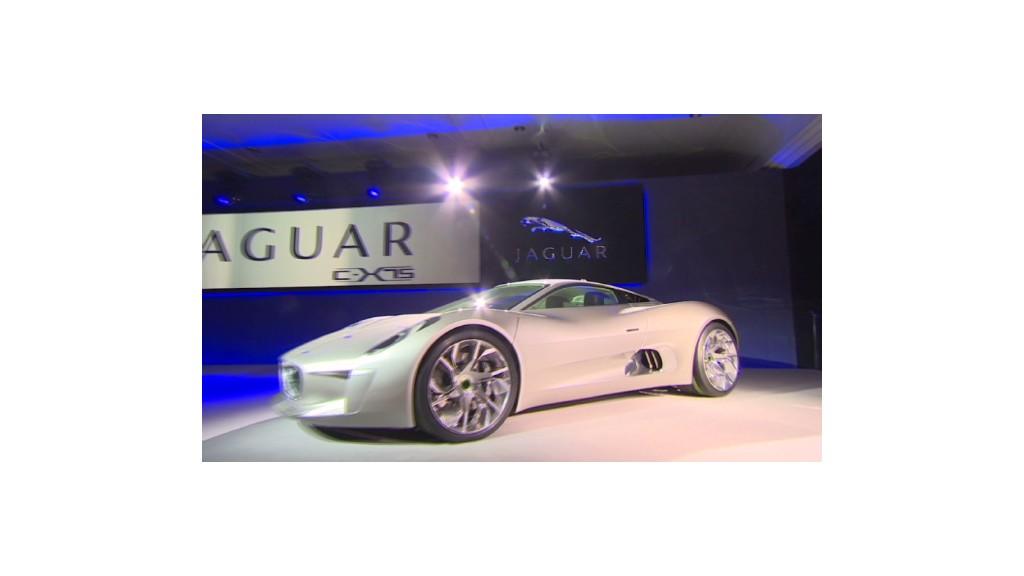 Jaguar's new hybrid sports car