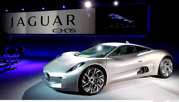 jaguar c-x75