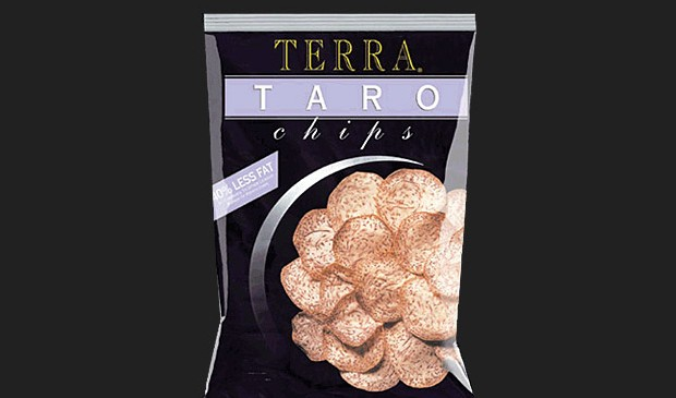 healthy snacks taro chips