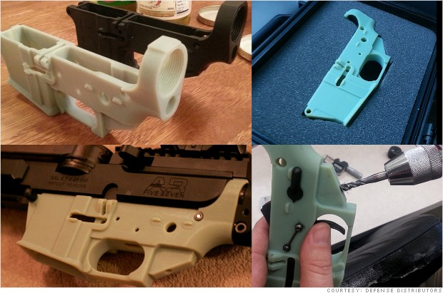 3-D printer MakerBot cracks down on gun blueprints