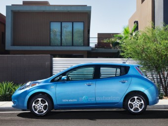 Nissan Leaf actually sells