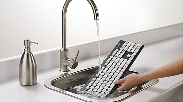 best gadgets 2012 logitech washable keyboard