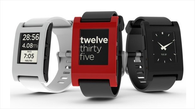 best gadgets 2012 pebble e-ink watch