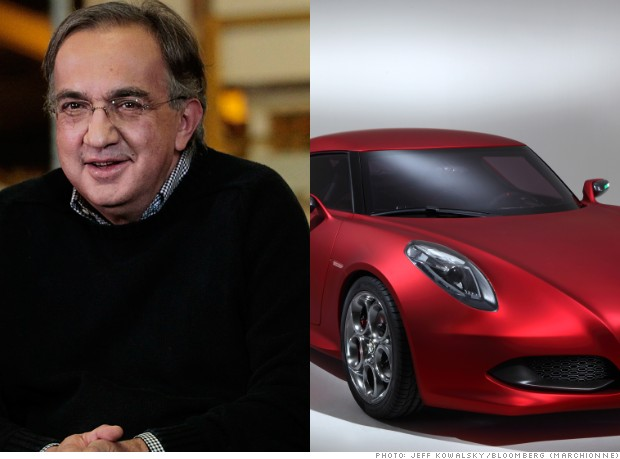 sergio marchionne alfa 4c