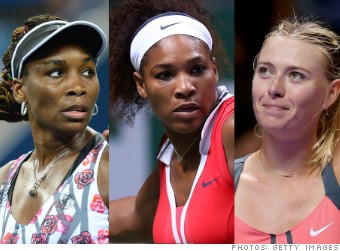venus serena williams maria sharapova