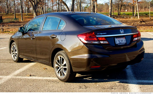 gallery 2012 honda civic vs 2013 rear 2