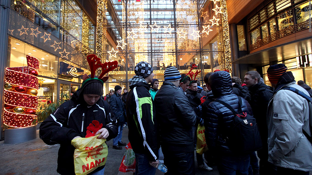 europe berlin christmas shopping