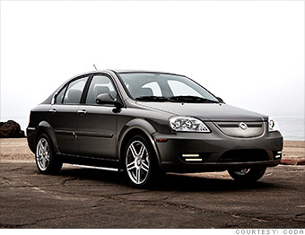 gallery cheapest cars to fuel coda automotive