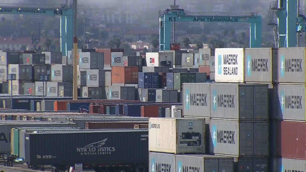 A port strike could cost billions