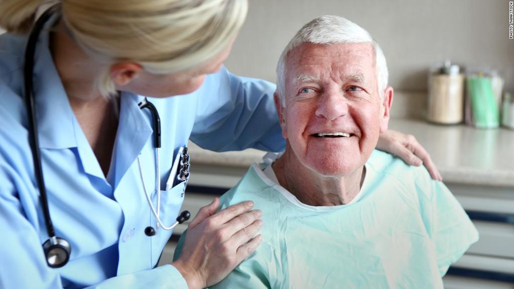 elderly patient doctor