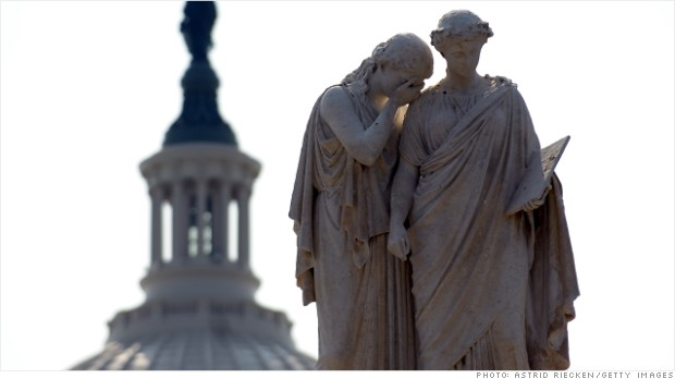 capitol dome statues cry