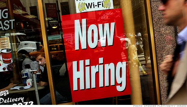 now hiring jobs sign