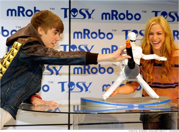 gallery bieber robot