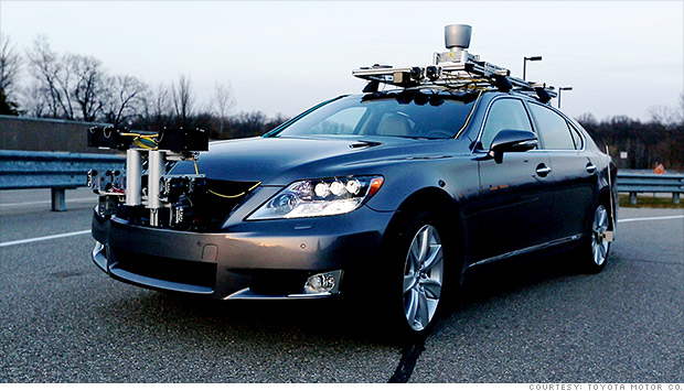 Toyota unveils self-driving car - Jan. 4, 2013
