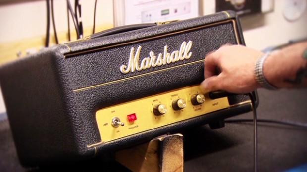 Watch Marshall make its rockin' amp