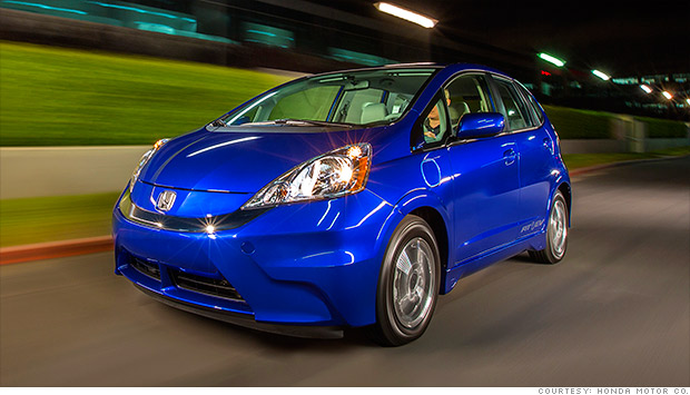 2013 honda fit ev