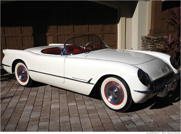 gallery most valuable corvette 1953