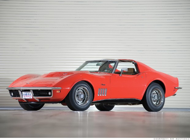 gallery most valuable corvette 1969 L88