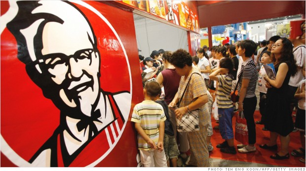 kfc china