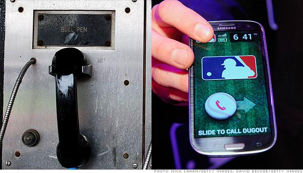 bullpen phone