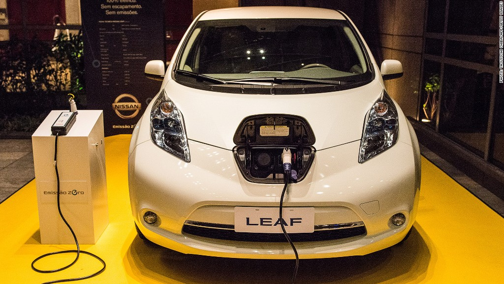nissan leaf build usa