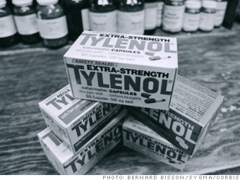 business crisis tylenol johnson johnson