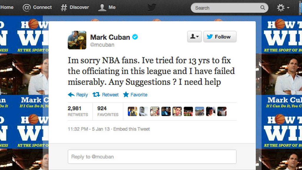 mark cuban tweet