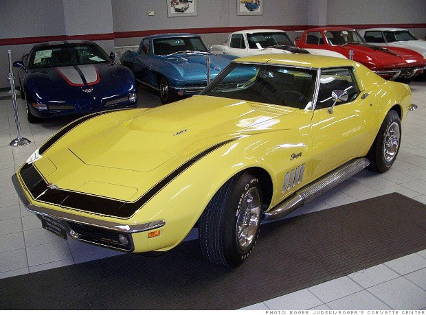 gallery most valuable corvette 1969 zl1