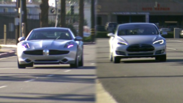 Fisker Karma vs. Tesla Model S