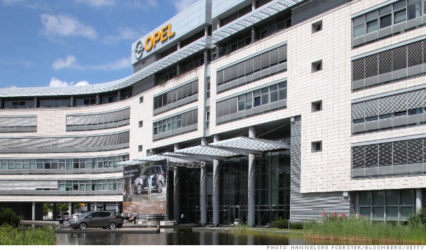 opel headquarters