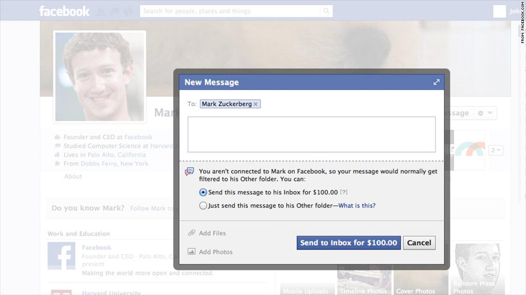 facebook messaging mark zuckerberg