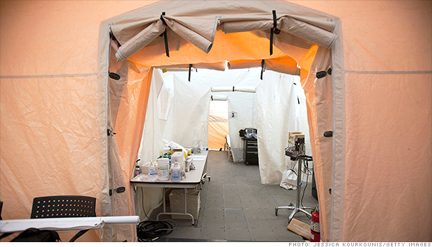 influenza tents
