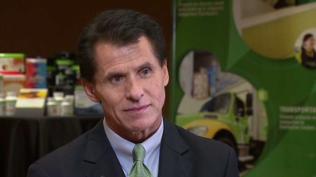Herbalife: 'We are a product company'