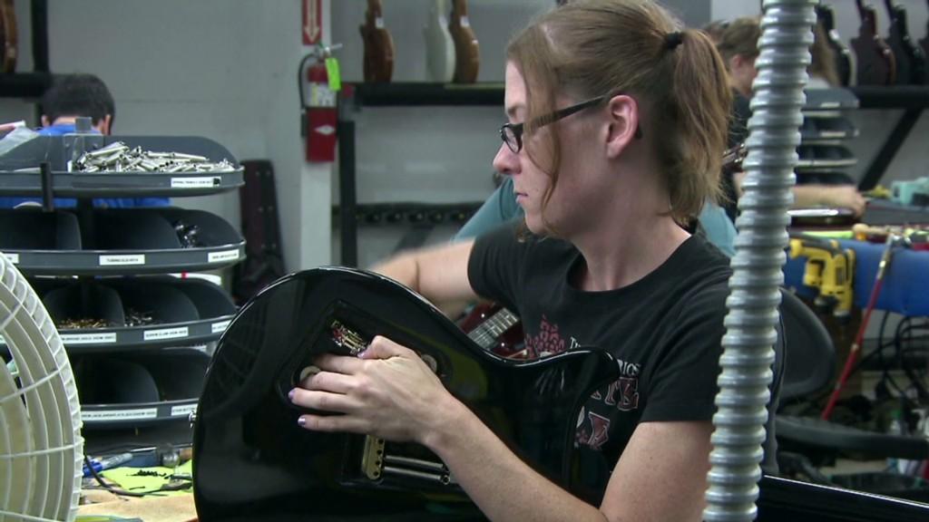 How Europe's economy hits U.S.-made guitars