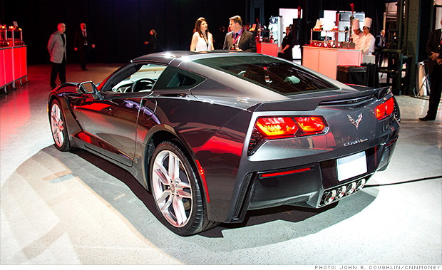 gallery 2014 chevrolet corvette rear1