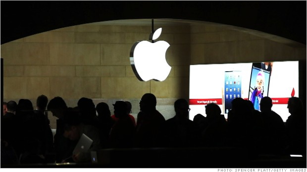 apple stock 01142013