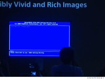 gallery ces horrors sony blue screen