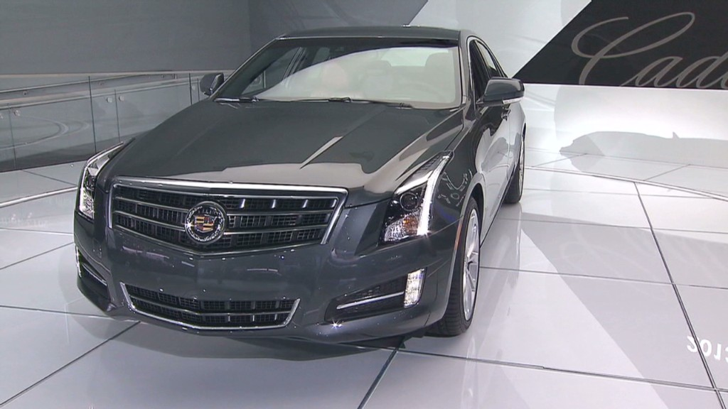 Cadillac, Ram win 2013 car, truck of the year