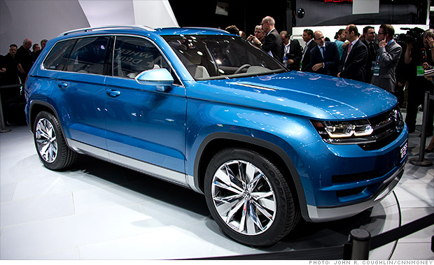 gallery 2013 naias volkswagen cross blue concept