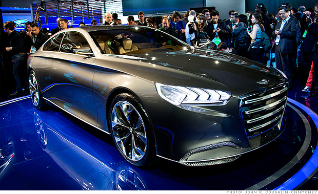 gallery 2013 naias hyundai hcd14 genesis concept
