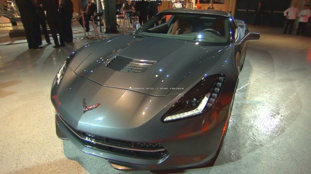 First look: The new 2014 Corvette Stingray