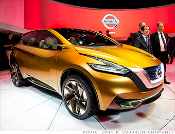 gallery 2013 naias nissan resonance concept