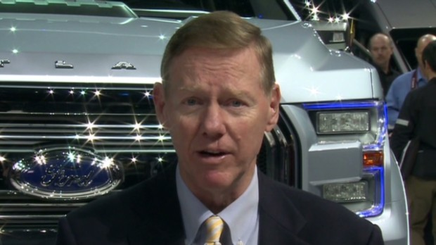 Ford CEO: 'Tremendous demand' for new cars