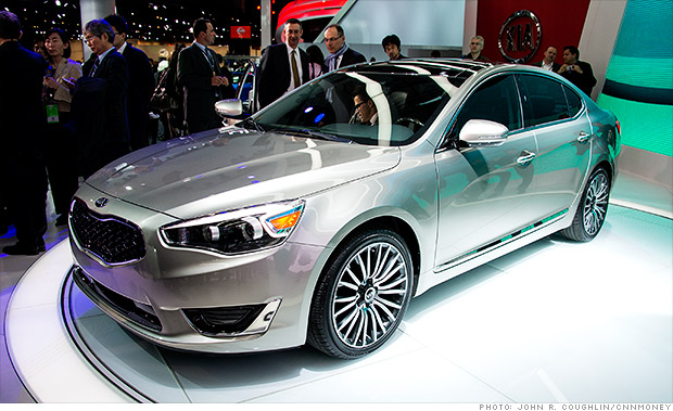 gallery 2013 naias kia cadenza