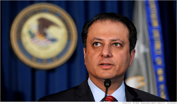 preet bharara insider trading